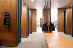 Sheryl Leysner   Interior Architecture & Project Management   De Bijenkorf   Amsterdam   Fitting rooms   Retail   Casual