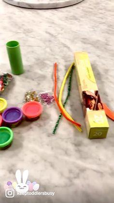 Easter Crafts For Kids, Toddler Crafts, Preschool Crafts, Toddler Activities, Activities For 2 Year Olds, Dollar Tree Crafts, Egg Shape, Easy Diy Crafts, Fine Motor Skills