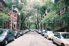 Brownstone walkups and leafy boulevards. I Love Nyc, Comic Book Artists, Street View, New York, Exterior, Landscape, City, Beach, Humberto Ramos