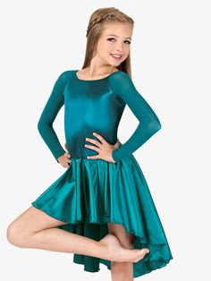 Girls, Kids Dancewear - Everything for Class Dance Dresses For Kids, Kids Dance Wear, Dresses For Teens, Dance Outfits, Girls Dresses, Cute Dance Costumes, Contemporary Dance Costumes, Little Girl Models, Young Girl Fashion