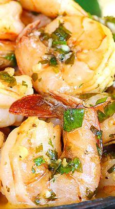 Lemon-Garlic Shrimp