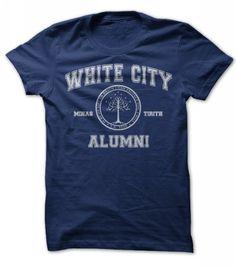 Awesome Tee White City Alumni T-Shirts