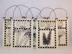 Wooden Plant Markers