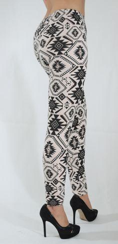 Mallones leggins de algodón con diseños tribales Mod.05
