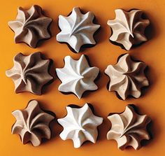 Meringue Stars Recipe  Cook's Notes: · We used a Wilton 2110/1M star tip for our meringues. An Ateco 885 swirl star tip also works well. · To avoid stickiness, try to bake meringues on a dry day. · Dipped meringues keep, layered between sheets of parchment or wax paper, in an airtight container at cool room temperature 1 week or frozen, container tightly wrapped in plastic wrap, 1 month.