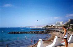 Playa de las Américas, Canary Islands.  Great place!!
