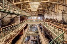 The Schlitz Brewhouse at the Schlitz Industrial Park in Milwaukee, Wisconsin, was built in 1890 and was shuttered in 1982.  Photo: Eric Holubow.