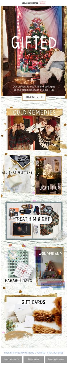 Urban Outfitters : Gifting