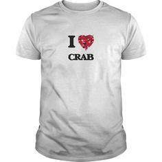 I Love Crab food design T-Shirts, Hoodies. Check Price Now ==►…