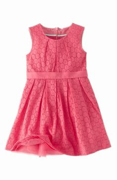 Mini Boden 'Broderie' Party Dress (Toddler Girls, Little Girls & Big Girls) available at #Nordstrom