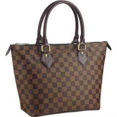 99ef6e933dfa3 Louis Vuitton Saleya PM Damier Ebene Canvas Tote The compact Saleya PM tote  bag is ideal for everyday city chic.