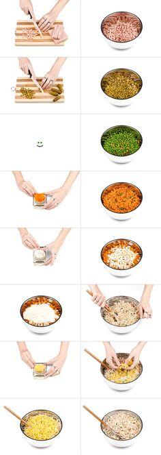 Jeste li znali da ruska salata kakvu danas znamo nema maltene ni jedan od sastojaka koji su je činili u vreme kada je nastala? Ja nisam ...