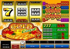 Gold Coast on, ilman muuta, valtava Microgaming kolikkopeli netissä! Jokainen pelaja varmasti tykkä pelata tämän hyvää kolikkopeli netissä. Pelissa on 3 rullat ja 5 voittolinjat. Myöskin on hyvät bonuspelit!