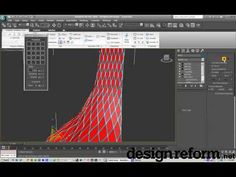 3ds Max 2010   Topology Tools on an Edit Poly Modifier   Design Reform