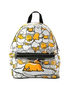 EGGSactly the backpack you need.