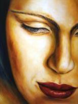"""Sensitiv"", Acryl, 80 x 60 cm"