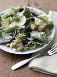 Healthy Caesar Salad  #LowCholesterol #Recipe