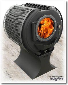 Wood Burner Stove, Wood Pellet Stoves, Log Burner, Stove Fireplace, Fireplace Design, Shop Heater, Wood Burning Heaters, Dome House, Rocket Stoves