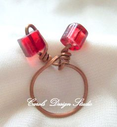 Red Bow Ring #design #thankyou
