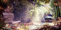 Autumn Land by jimmy ghanimeh | Architecture | 3D | CGSociety