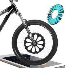 Only US$345.00 buy best lvbu bx20l 26 inch 36v 250w intelligent mountain bike wheel diy modified e-bike front wheel 60km long life bluetooth sale online store at wholesale price. US/EU direct. - Banggood Mobile