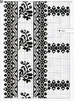 Ukraine, ♥ , from Iryna Embroidery Patterns Free, Knitting Patterns, Crochet Patterns, Palestinian Embroidery, Types Of Stitches, Filet Crochet, Needlework, Cross Stitch, Chart