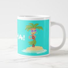 Hula Palm coffee mug - good gifts special unique customize style