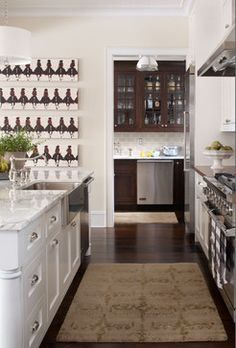 Kitchen- Chalet Interiors - traditional - kitchen - denver - Chalet. like layout and butlers pantry