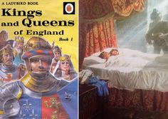 Cover and illustration from Kings and Queens of England Book 1