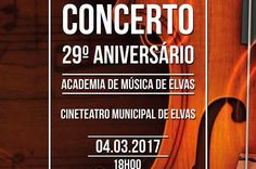 Elvas: Academia de Música celebra 29º aniversário com Concerto no Cine-Teatro | Portal Elvasnews