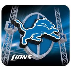 Hunter Detroit Lions Team Logo Mousepad ** See this great product.