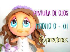 Básicos - Pintura de ojos Modelo O-01 - Expresiones - #TijeritasManualid...