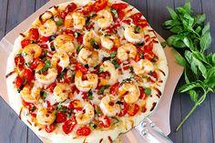 Shrimp Fra Diavolo Pizza {gimme some oven}