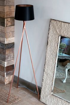 Diy copper lamp copper lamps lights and pipes solutioingenieria Image collections