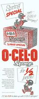 O-Cel-O Sponges 1954 Ad Picture