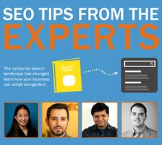 #SEO tips from the experts