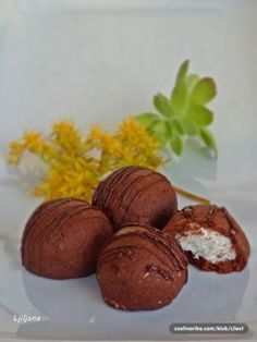 ~ Recepti i Ideje Christmas Sweets, Christmas Baking, Christmas Biscuits, Czech Recipes, Salty Foods, Holiday Cookies, Desert Recipes, No Bake Cake, Donuts