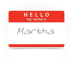 What Should Your Name Actually Be... I got Martha. .lol nope. I don't like that name for me.