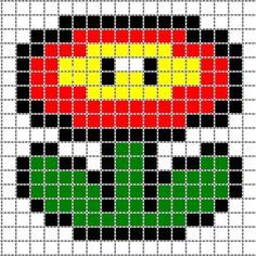 Dessin Facile Pixel Mario