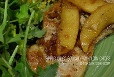 Pork chops and applesauce are all grown up! This recipe uses pork loin chops and fresh apples to create a deeply satisfying dish. shrinkingkitchen.com