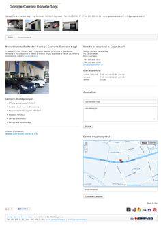 Garage, Locarno, Renault, Cugnaso, riparazione