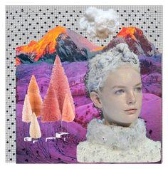 """winter art"" by lianafourmouzi ❤ liked on Polyvore featuring art"