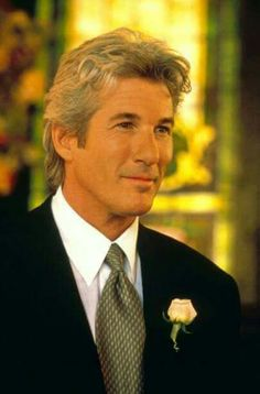Richard Tiffany Gere (b. Aug 31, 1949) in Philadelphia, Penn. His father was an insurance agent, his mother a housewife. Gere is an American actor & humanitarian activist. Gere was married to supermodel Cindy Crawford (1991 to 1995). He married model & actress Carey Lowell. (2002 - 2013 w a son).
