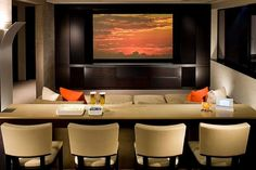 Comfy Home Theater Seating Ideas to Pamper Yourself. While most tend to think long and hard about the theme of the modern home theater room that they intend to make a part of their home and the kind of electronics and technology inside, many forget its most essential aspect; seating!