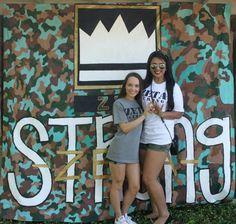 Zeta Tau Alpha at University of Texas, Arlington #ZetaTauAlpha #ZTA #Zeta #BidDay #tutu #sorority #UTA