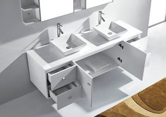 We sell Fresca modern bathroom vanities, sinks, faucets, toilets, shower panels, and accessories.