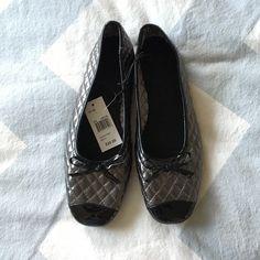 Selling this NWT! Metallic Flats in my Poshmark closet! My username is: amandamlea. #shopmycloset #poshmark #fashion #shopping #style #forsale #Shoes