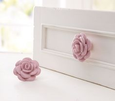Dress up drawers and make plain furniture pop with these drawer knobs