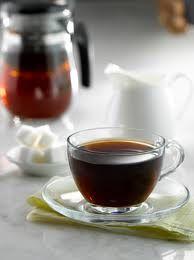 A pu'erh tea