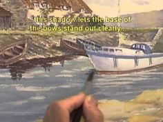Watercolour Water Tutorial - Ripples at Porlock Weir (Part 3) - YouTube